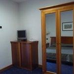 Fridge in TV cupboard