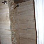 Lovely marble bathroom