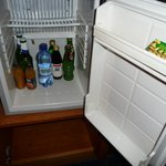 Minibar to keep your drinks cold