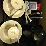 Tea & Coffee options in the club room