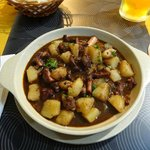 Octopus stew, local dish a must try