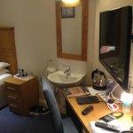 My shared facility room..Wash basin inside