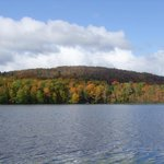 View of Lac Saint Charles 3 - Autumn colors