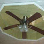 Recessed Fan in Room