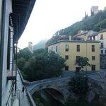 das Darro Tal vom Balkon