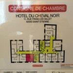 Foto de Hotel Du Cheval Noir