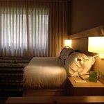 Spaziosa, pulita, elegante e funzionale. Cosa chiedere di più ad una camera di Hotel?