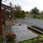 Patio door room view, opens up to the garden