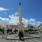 Praça de marques pombal de vila real de santo antonio