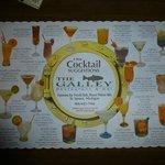 Cocktail-Karte