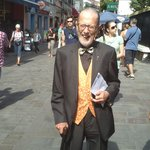 Mr Momy Levy ex mayor of Gibraltar