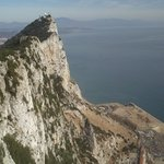 view from top of gibraltar rock