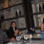 Toledo, Hernán, Irina, meine Frau Julia (von links)