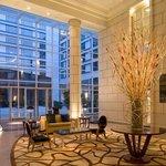 lobby del hotel hyatt