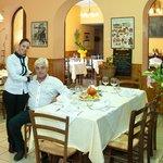 Toni, il cuoco e la figlia Valentina