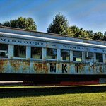 Old train at Trolley Museum