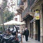 Exterior y terraza del restaurante