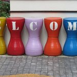 A warm welcome!