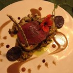 Venison steak - fabulous!