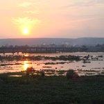 Sunset from The Villa Soudan