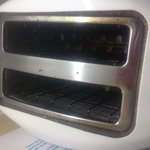 Very unclean toaster
