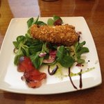 Deep Fried Brie from the Sunday Lunch menu. This was delicious, I can certainly recommend this s