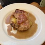 Pork Chop (Sun Lunch). This was a large pork chop but was a little bland. Perhaps some apple pur