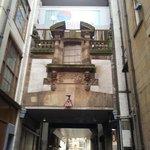 Hotel entrance  street