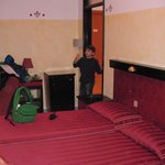 big room with 4 beds for family