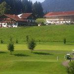 Einer der Golfplätze