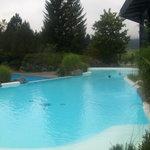 Der warme Innen/Außen-Pool