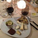 Assiette de Fromage dont un au truffes : EXCELLENT !