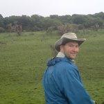 Steve on horse back