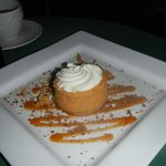 The Pumpkin Mousse. Heaven on a plate