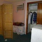 Sleeping Nook & Closet in Living Area