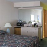 Kitchenette in the room,