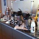 Coffe Bar at Breakfast  - Hotel Schynige Platte