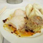 Har Gao, Siu Mai, and steamed buns MMMMMmmmm