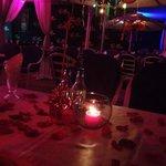 Noche romantica en palmitas!!