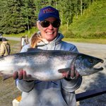 Final day of fishing with a beautiful Silver Salmon
