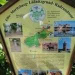 Radrundweg - Hinweisschild
