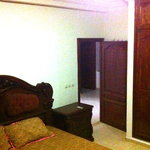 bedroom with king size double bed ground floor