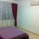 ground floor bedroom with kingsize double bed