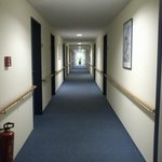The Loooonnnggg corridor...this is just half of it.