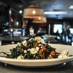 Braised Kale Salad