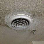 Exhaust Fan in loft - mold