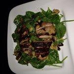 BBQ Chicken Spinach Salad