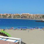 The beach from Los Cristianos end.