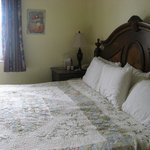 Room 206 - very comfortable king bed