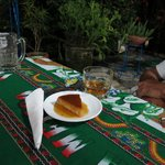 great flan and great rum